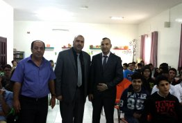 A lecture in Human Development at Ashbal Alquds School