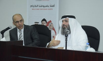 A lecture at AAU about divorce disputes in cooperation with Dubai Courts